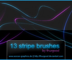 13 Kind Stripes Brushes
