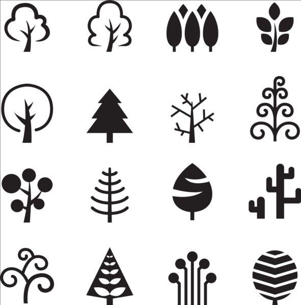Christmas Tree Photoshop Brushes
