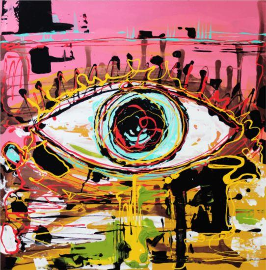 Abstraction graffiti art background vector 06