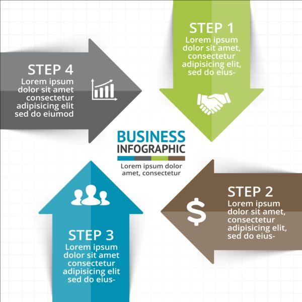 Business Infographic creative design 4312