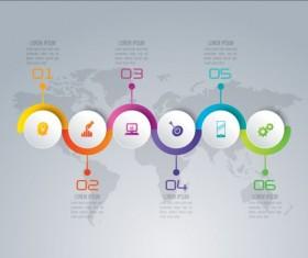 Business Infographic creative design 4319