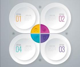 Business Infographic creative design 4320