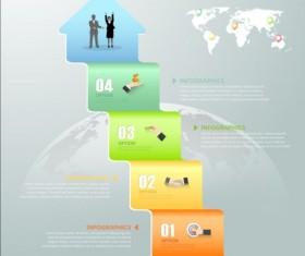 Business Infographic creative design 4329