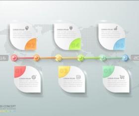 Business Infographic creative design 4334