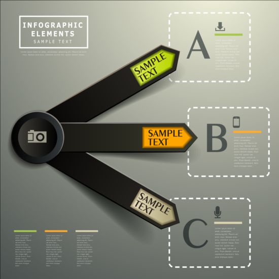 Business Infographic creative design 4342