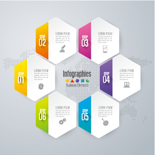 Business Infographic creative design 4354