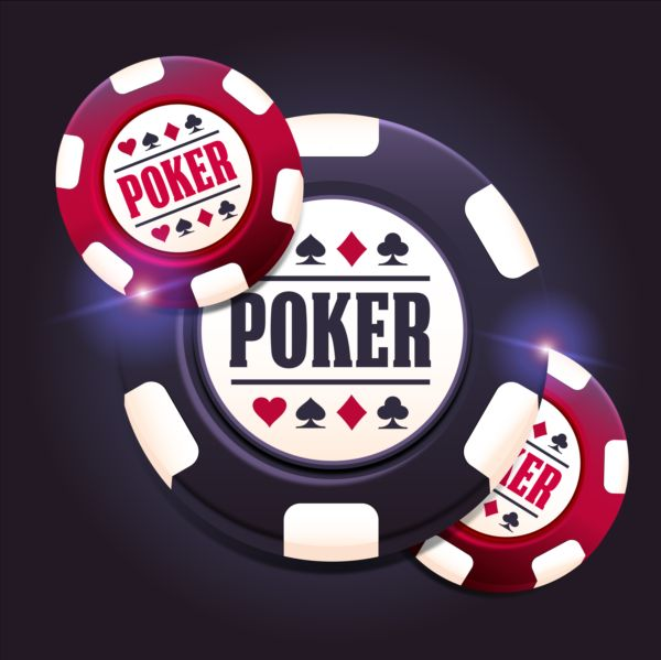 Casino poker chips background vector 03 - Vector ...