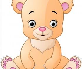 Cute teddy bear vector illustration 05