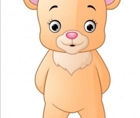 Cute teddy bear vector illustration 06