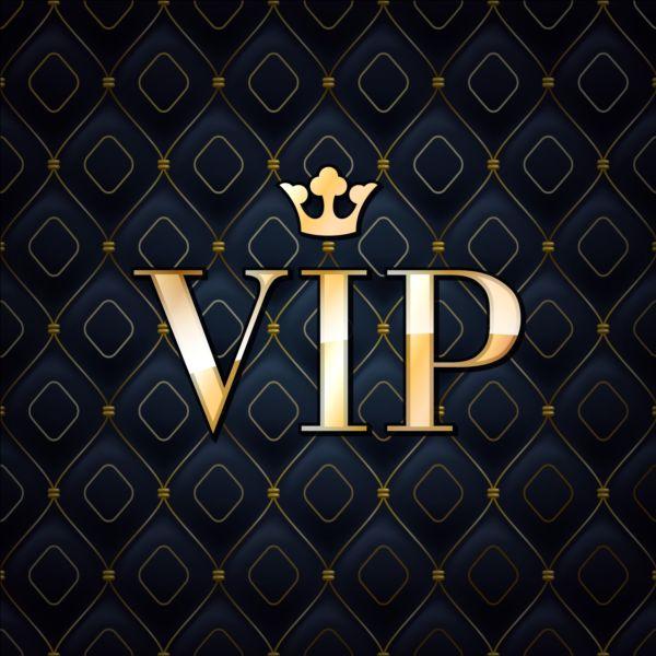 Dark Blue VIP Luxury Background Vector 02 Free Download
