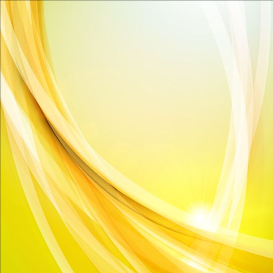 Elegant Lines With Light Vector Backgrounds 04 Vector