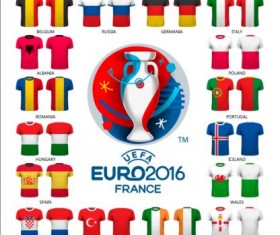 Euro2016 cup football background vector 02