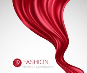 Fashion abstract silk background vector 04