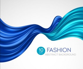 Fashion abstract silk background vector 05