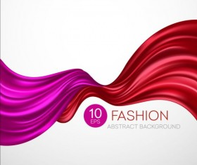 Fashion abstract silk background vector 06