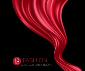 Fashion abstract silk background vector 08