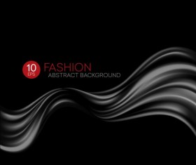 Fashion abstract silk background vector 09