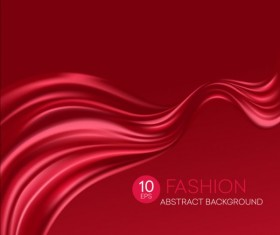 Fashion abstract silk background vector 10