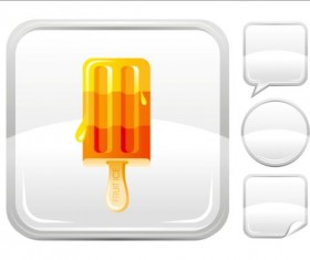Ice cream icons creative vector 04
