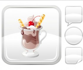 Ice cream icons creative vector 05