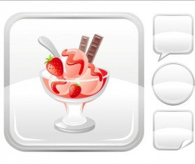 Ice cream icons creative vector 06