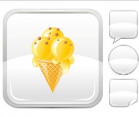 Ice cream icons creative vector 07