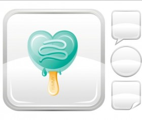 Ice cream icons creative vector 08