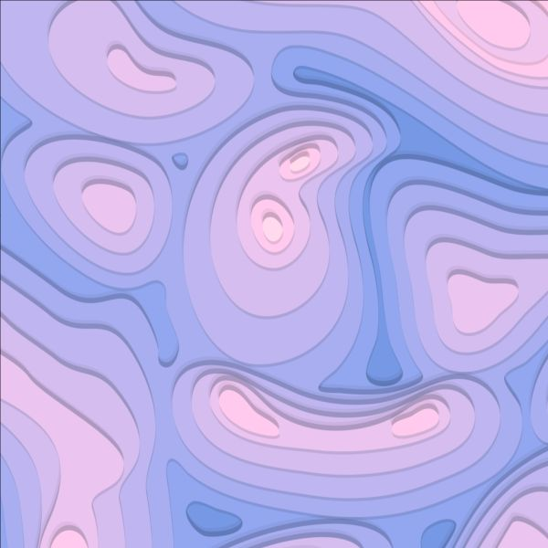 Layered abstract art background vector 09