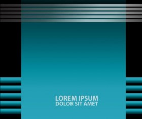 Light blue with black styles flyer and brochure cover vector 19