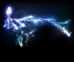 Lightning flash stick background vector 03