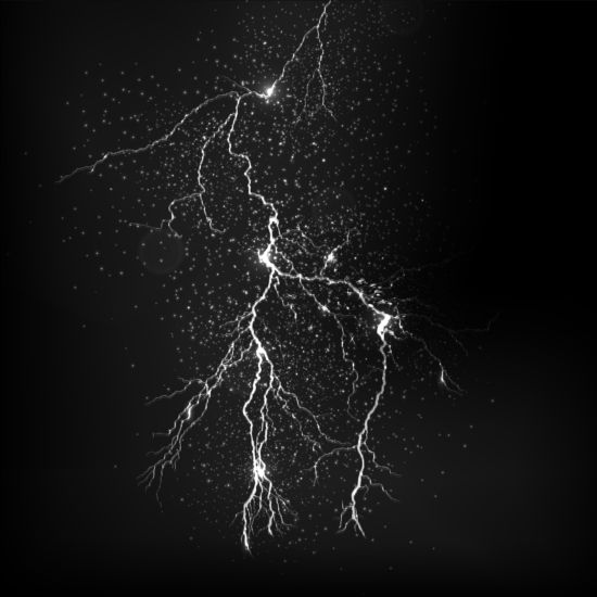 Lightning flash stick background vector 04