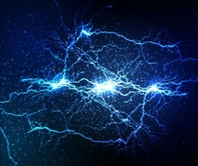 Lightning flash stick background vector 08