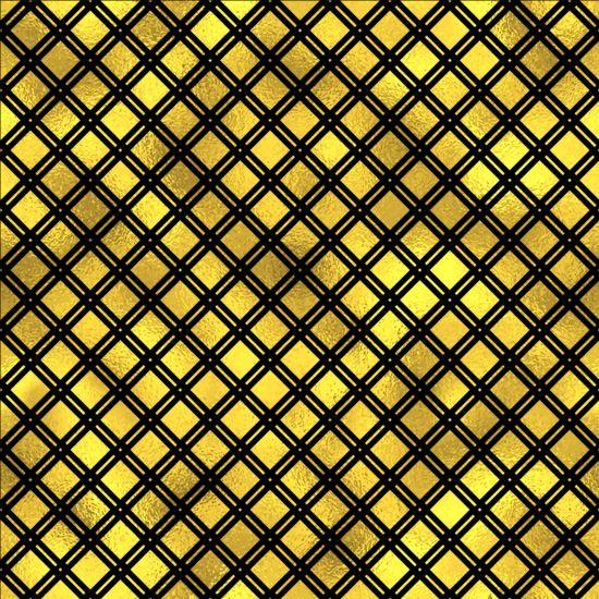 Luxury gold pattern seamless vector 03