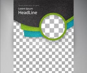 Modern flyers brochure cover vector illustration 04