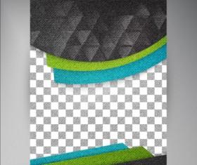 Modern flyers brochure cover vector illustration 06