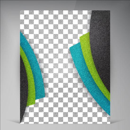 Modern flyers brochure cover vector illustration 11
