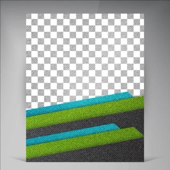 Modern flyers brochure cover vector illustration 14