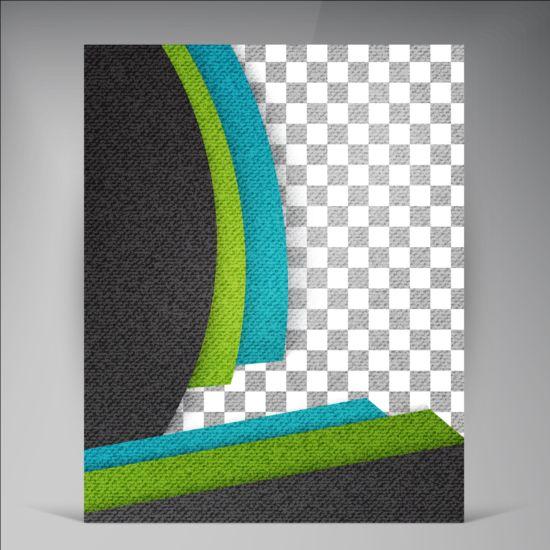 Modern flyers brochure cover vector illustration 15