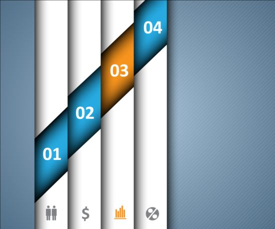 Numbers business background design 02