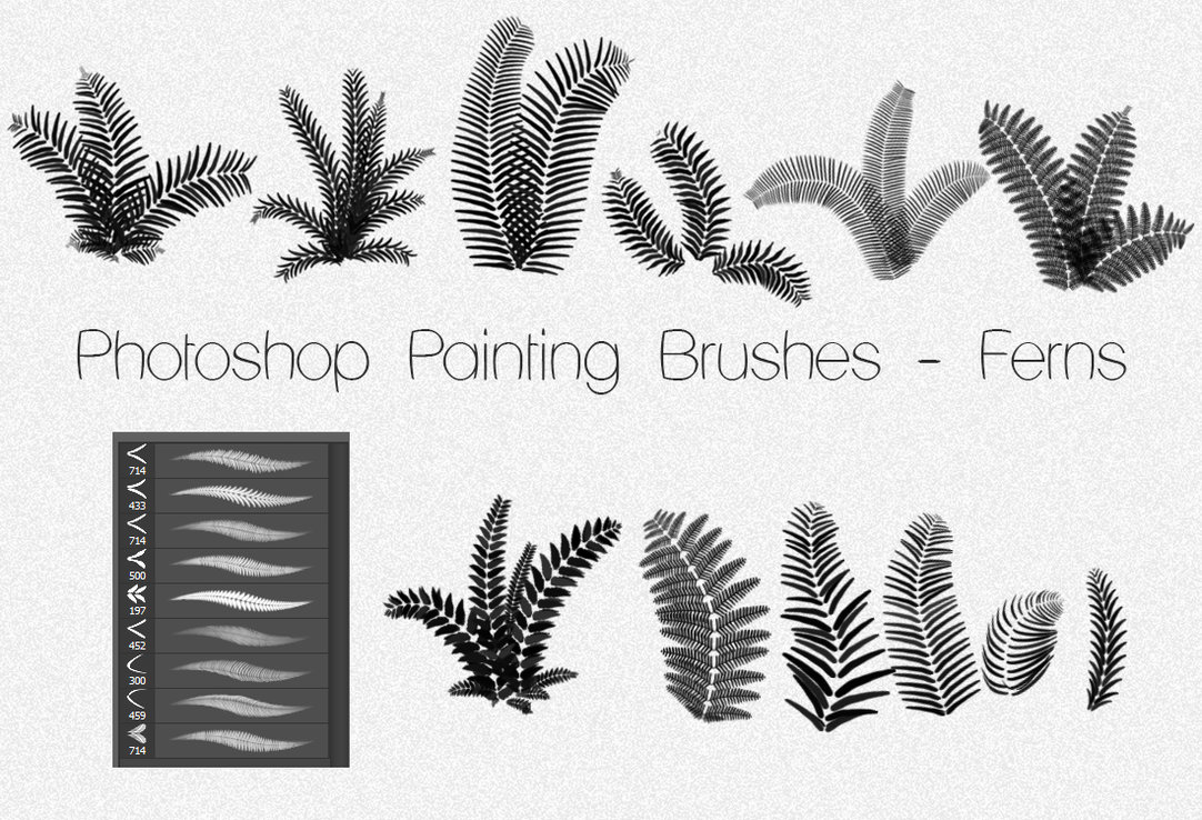 Painting PS Brushes - Photoshop Brushes free download
