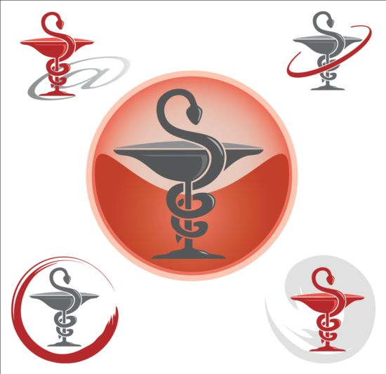 Pharmacy logos design vector 06