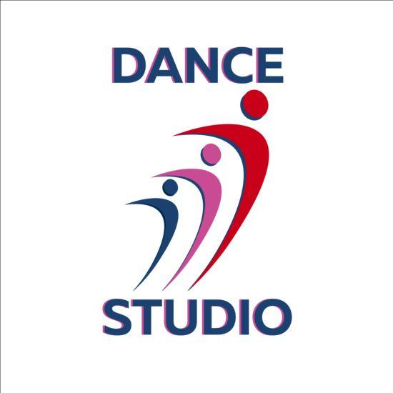 Set Of Dance Studio Logos Design Vector 04 Vector Logo