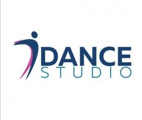 Set of dance studio logos design vector 09
