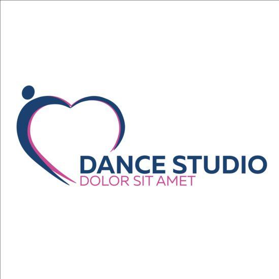 Set Of Dance Studio Logos Design Vector 13 Vector Logo