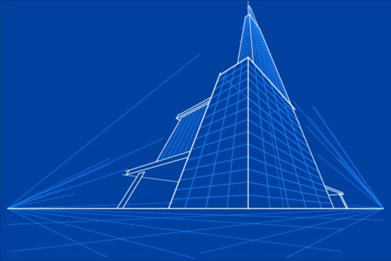 Simple blueprint building vectors design 04 free download simple blueprint building vectors design 04 malvernweather Images