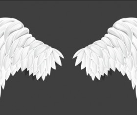 White wings vector material 01