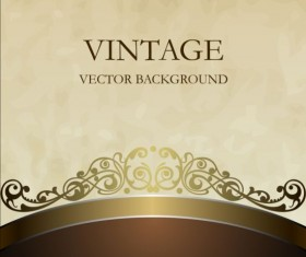 brown with beige vintage background vector