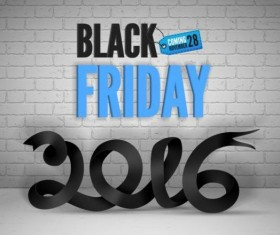 2016 Black friday background vectors material 01