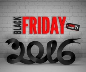 2016 Black friday background vectors material 07
