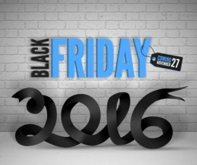 2016 Black friday background vectors material 08